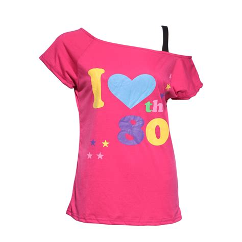 80s Shirt by Fever 1980s Pop I The 80s T Shirt Pink