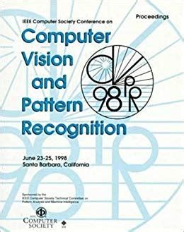 pattern recognition for dummies proceedings 1998 ieee computer society conference on