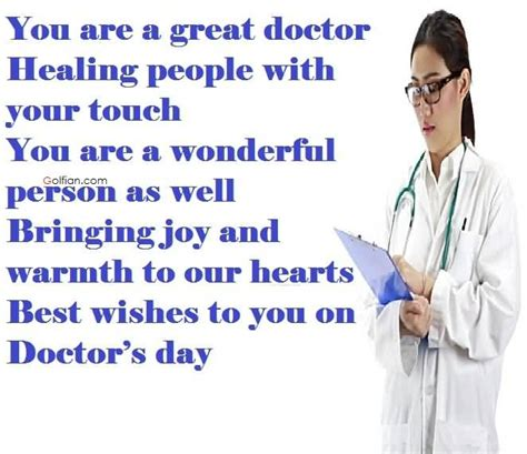 Best doctors day quotes m4hsunfo