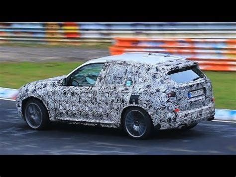 2019 bmw x3 m storms nurburgring, debut imminent
