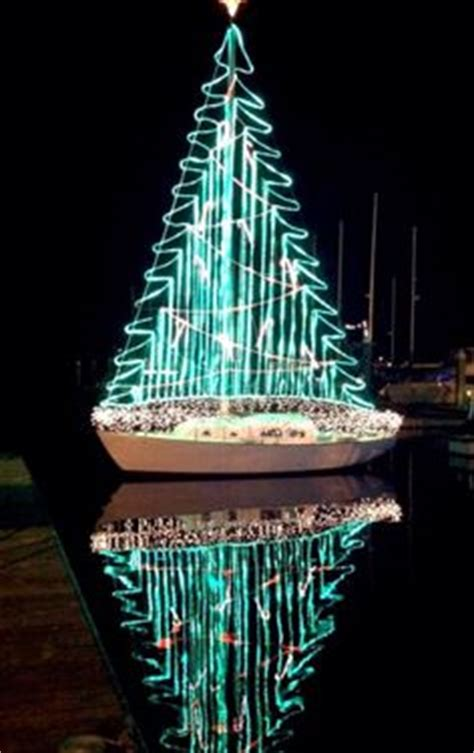 key west christmas lights including boat parade boats