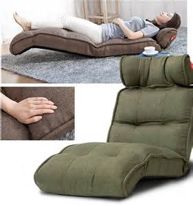 Floor recliner chair balans legless bed low tatami chairs ebay