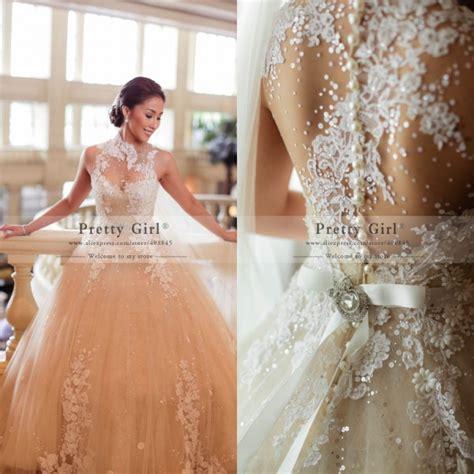 aliexpress wedding aliexpress com buy beautiful chic sequined beading sheer
