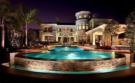Cool Houses With Pools dream house image 2200252 by maria d on favim com