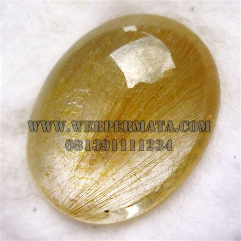 Kecubung Rambut Rutilated Quartz rambut cendana rutilated quartz merah permata mulia