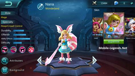 Skin Nana mobile legends nana skins 1 mobile legends