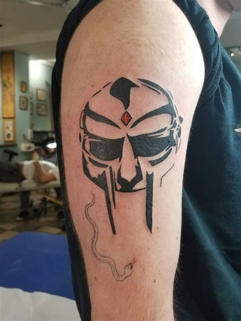 chicago tattoo and piercing repost mf doom mask by david mcnair chicago
