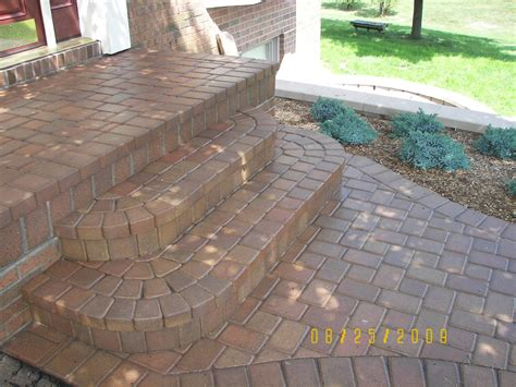 How to build patio steps from pavers modern patio amp outdoor