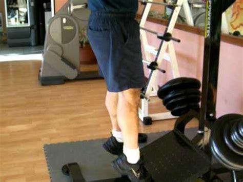 calf machine seduto polpacci calf in piedi alla macchina calf machine avi