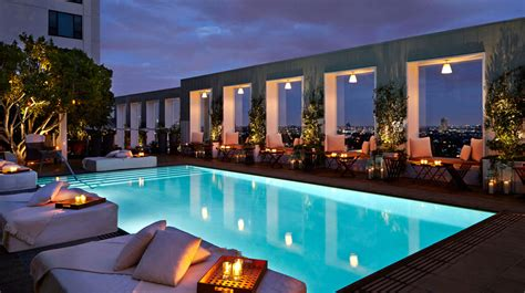 la hoteles los angeles hotels with the best views ealuxe