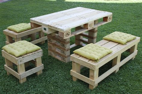 arredamento giardino fai da te fai da te mobili in pallet