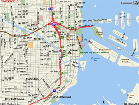 miami map miami map free printable maps