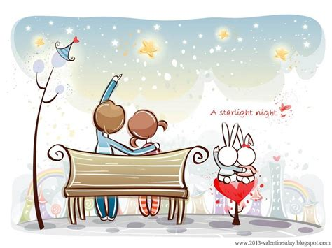 cartoon wallpaper about love cute cartoon couple love hd wallpapers for valentines day