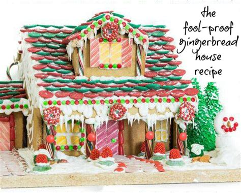 gingerbread recipe for houses the fool proof gingerbread house recipe