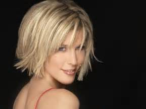 flip for thin hair blonde short hairstyles for women short hairstyles 2016