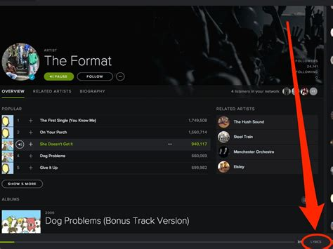 How To Find On Spotify How To Find Song Lyrics On Spotify Business Insider