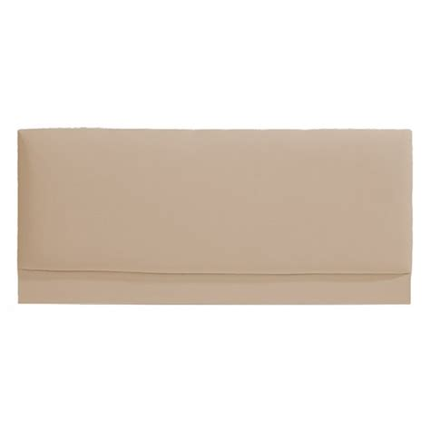 cream headboard faux leather king size headboard cream allied furniture