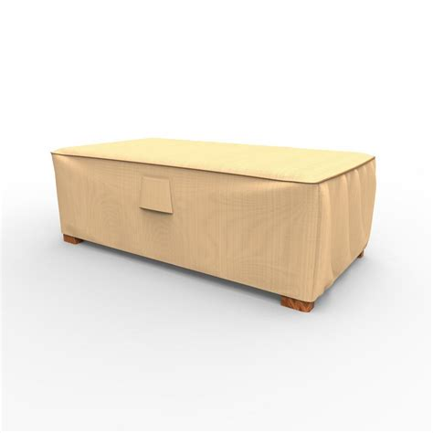 patio coffee table cover budge chelsea medium patio ottoman coffee table covers