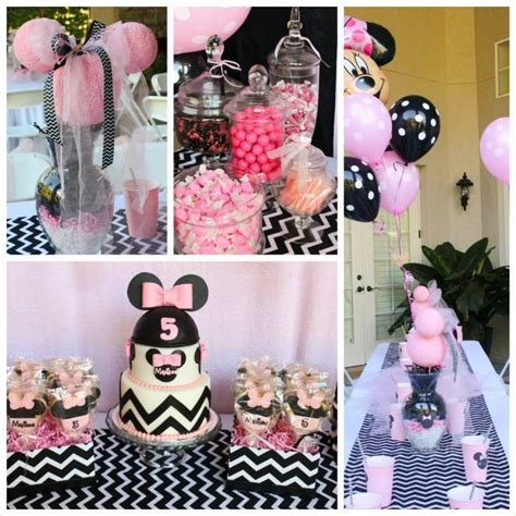 minnie mouse themed birthday decorations minnie mouse themed birthday with lots of really