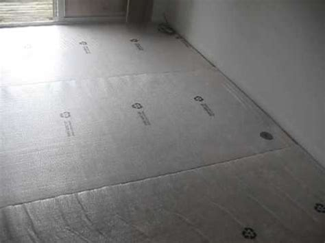 easymat tile and underlayment for