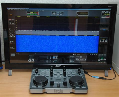 sdr console operating a sdr like a classic radio dj5ar