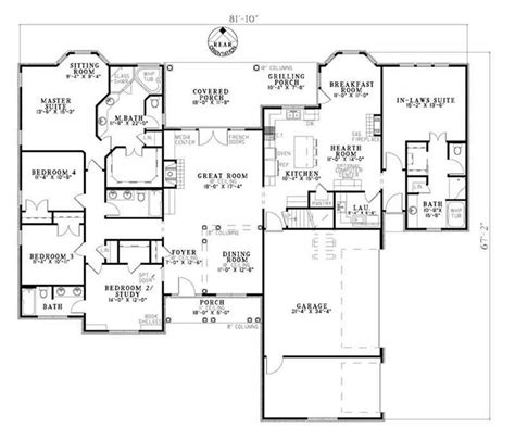 basement in law suite floor plans floor plan dream home pinterest basement floor plans