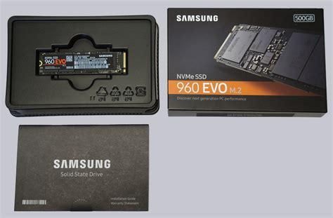 samsung ssd 960 evo 500 gb m 2 nvme review