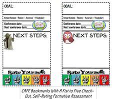 printable bookmarks for elementary students cafe reading strategy bookmarks reading pinterest