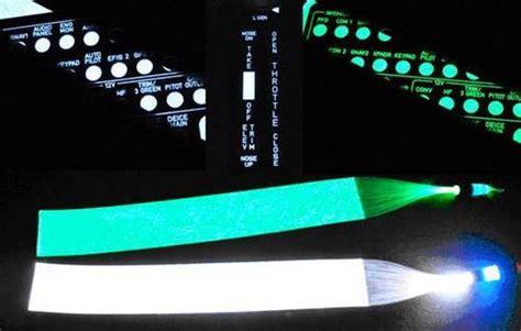 Fiber Optic Interior Lighting by Fiber Optic Panel Backlighting Kit White From Aircraft