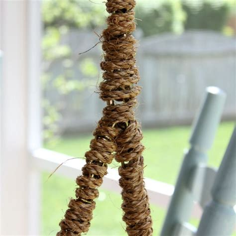 rope wrapped chain   porch swing hometalk