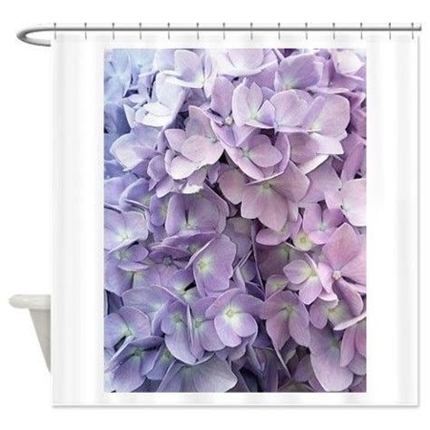 hydrangea shower curtain purple hydrangea shower curtain curtains purple