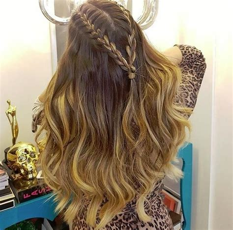 hairstyles with loose curls and braids 17917 best hairstyles for long hair images on pinterest