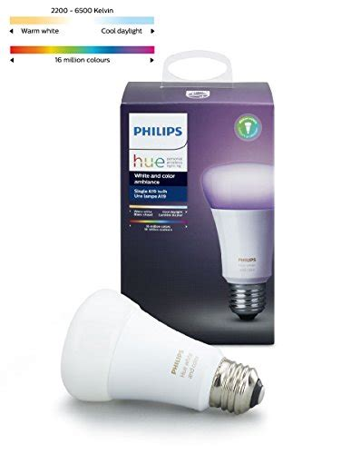 philips a19 dimmable led l philips hue white and color ambiance 3rd generation br30