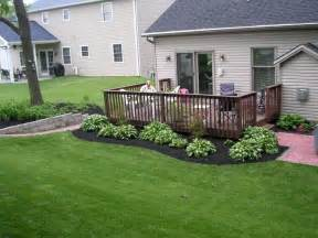 landscaping ideas around patio 25 best ideas about deck landscaping on