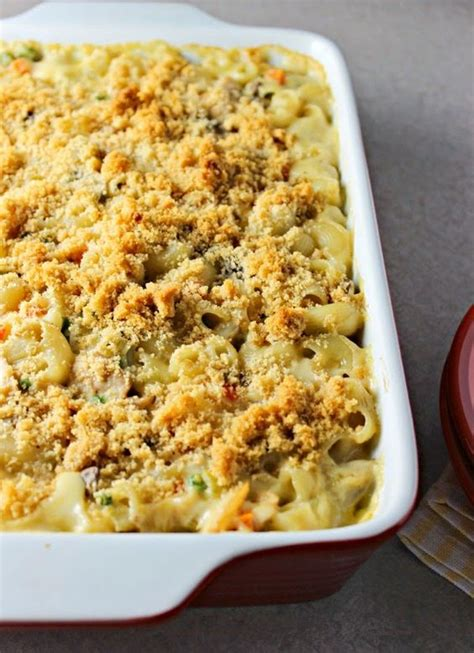 lighter cheesy tuna noodle casserole without canned cream soup milk noodle casserole and