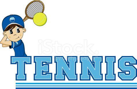 dibujos de niños jugando tenis dibujos animados tenis ni 241 o fotograf 237 as de stock