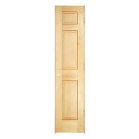 18 Inch Closet Door Shop Reliabilt 6 Panel Solid No Skin Pine Left Interior Single Prehung Door Common