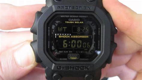 G Shock Gx Black casio g shock big digital unboxing matte black