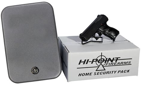 hi point c 9 9mm home security package with lock box
