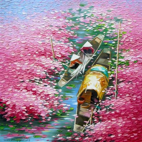 blossom season   tran quang dinh buy original asian