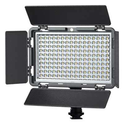 best on camera led light vibesta verata160 daylight led on camera light