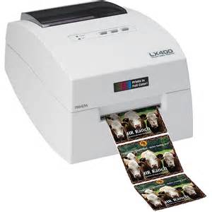 color label maker primera 74261 label printer lx400 color label