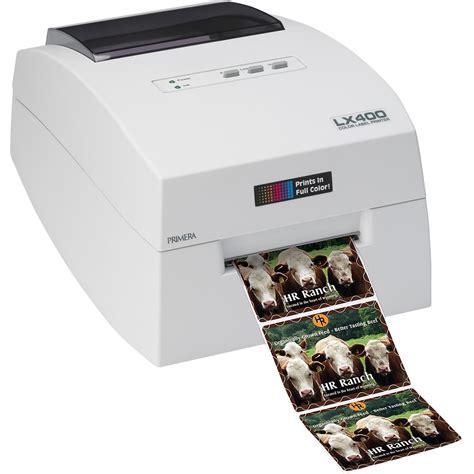color label printer primera 74261 label printer lx400 color label