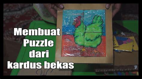 membuat sim di umur 16 tahun membuat puzzle dari kardus bekas youtube