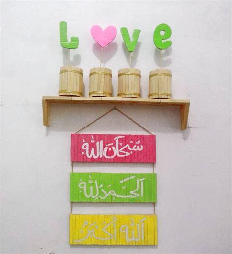 membuat hiasan natal dari stik es krim kreasi hiasan dinding natal 41 model rak dinding