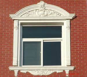 Decorative Windows For Houses Designs China Grey Window Decorative Trim Moulding Polishing Sandstone Frame Worldinmfg