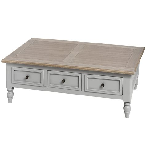 ascot range grey coffee table