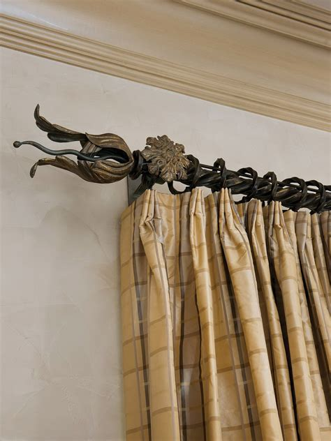 wrought iron curtain rods and finials wrought iron curtain rods and finials home design ideas