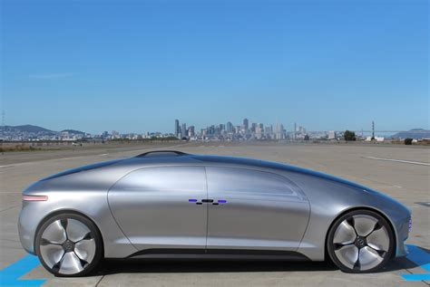 future mercedes riding in the mercedes benz f 015 concept car the self