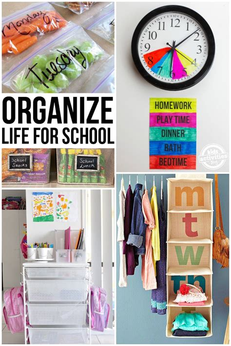 organizing life organizing life for school